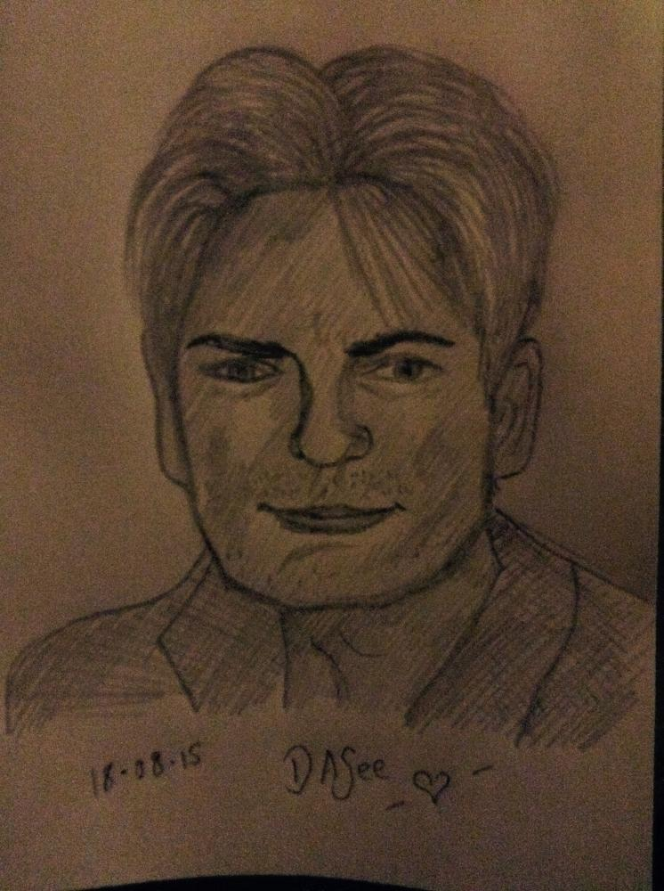 Charlie Sheen by dasee